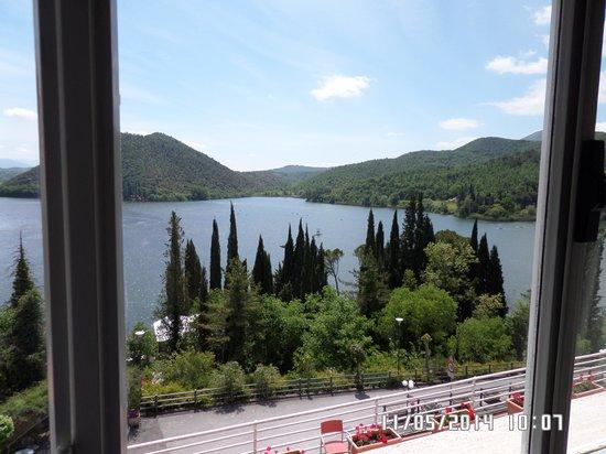 Hotel Del Lago : vista dalla finestra della camera