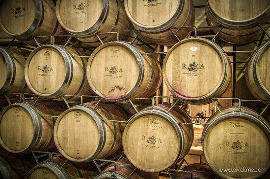 Raka Wine: Raka Barrels