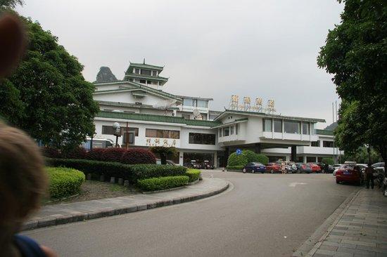 Guilin Park Hotel : Hotellet ligger fint i terrenget