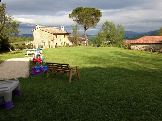Villa Pian Di Cascina: part of the play area