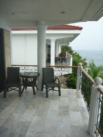 Eden Resort : Balcony