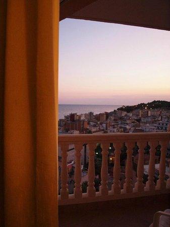 Alba Seleqtta Hotel: Habitación superior - vista mar