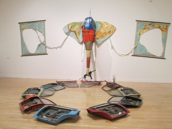 Tate Modern : Bill Woodrow, Elephant