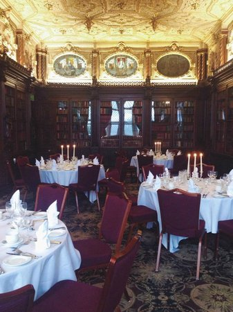 Crewe Hall: Dinner Ready