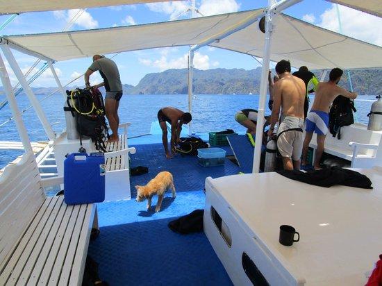 Fun & Sun Dive & Travel: The dive boat