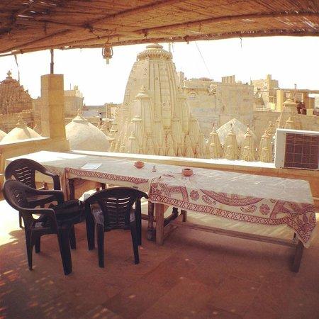 Hotel Deep Mahal: Roof Top