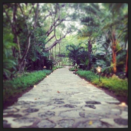 Belmond Maroma Resort & Spa: Candlelit walkway