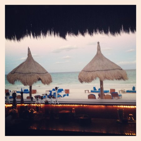 Belmond Maroma Resort & Spa: View from Freddy's Bar