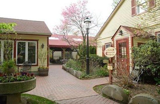 Joseph Ambler Inn: quaint and charming