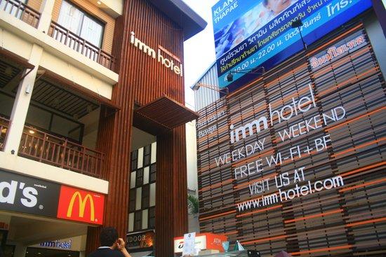Imm Hotel Thaphae Chiang Mai: Facade