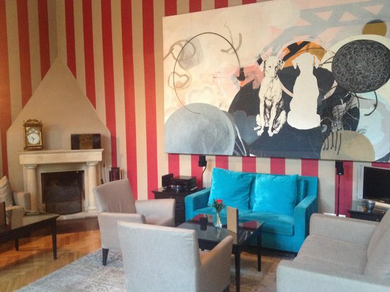 Hotel Aldstadt: The lounge area