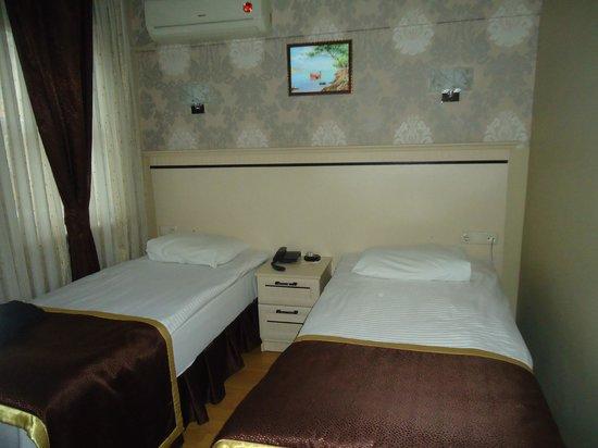 Hurriyet Hotel: Notre chambre