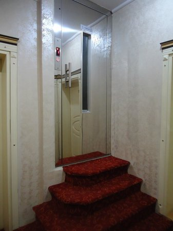 Hurriyet Hotel: Couloir