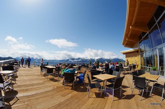 Sea to Sky Gondola: Great place to have lunch