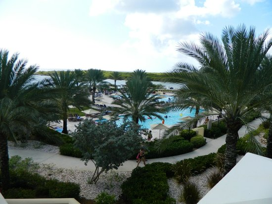 Santa Barbara Beach & Golf Resort, Curacao : Vista do lobby