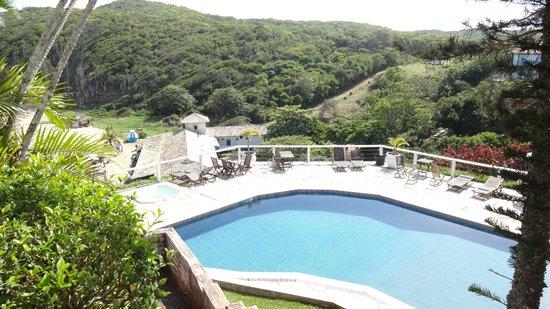 Apa Pau Brasil Hotel : Vista de um dos quartos