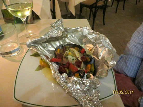 Algila Ortigia Charme Hotel: Main meal
