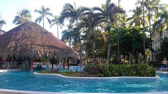 Vista Sol Punta Cana : Area de la piscina