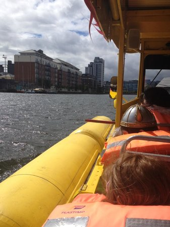 Viking Splash Tours: Grand canal dock