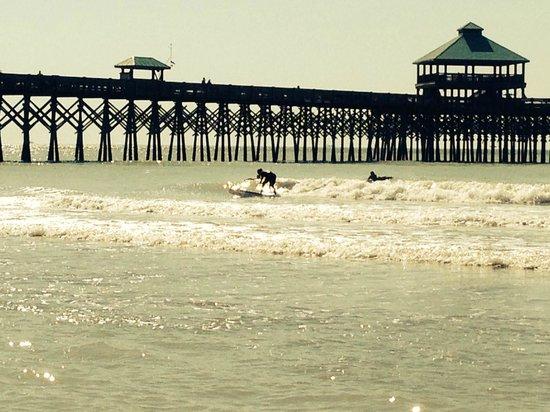 Charleston Surf Lessons: SURFING! :)
