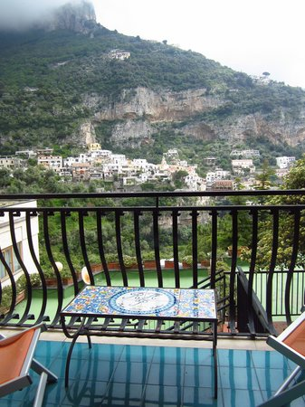 Hotel Royal Positano : view from my room