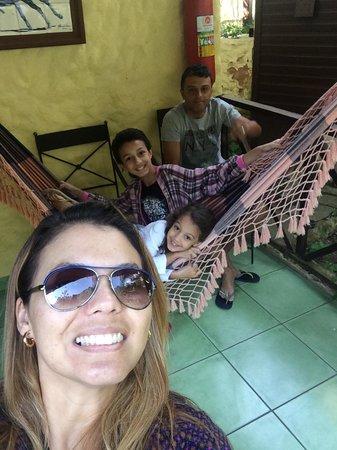 Hotel Pedra Bonita: Nós no Chalé!