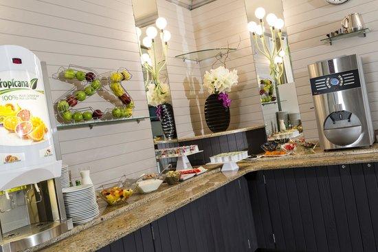 Hotel Paris Louis Blanc: Salle petit déjeuner - Breakfast room - Hôtel Paris Louis Blanc