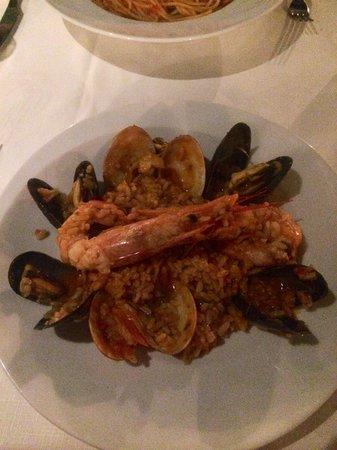 Eva's Garden Restaurant : My first risotto mmmm