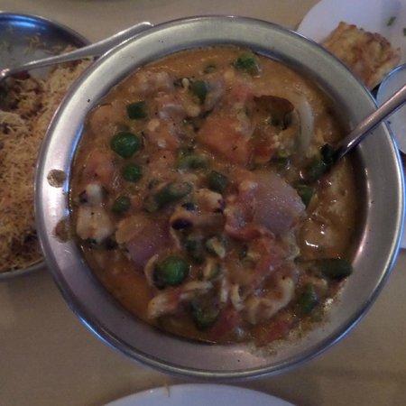 Bollywood Bites : Vegetarian curry