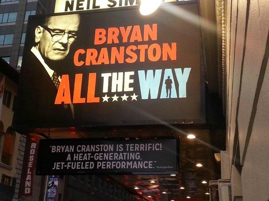 Neil Simon Theatre: this way to wonder