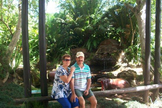 Kruger Park Lodge : Lovely entrance.