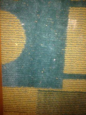 La Quinta Inn & Suites Oklahoma City NW Expwy : Room Carpet No Vacuumed
