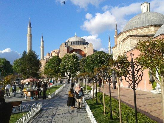 Amiral Palace Hotel: Hagia Sophia