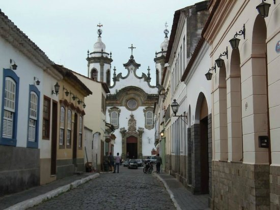 Our Lady of Carmo church: Se desvela ao caminhar