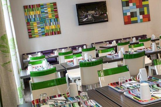 Hotel Paris Louis Blanc: Salle petit déjeuner - Breakfast room -Hôtel Paris Louis Blanc