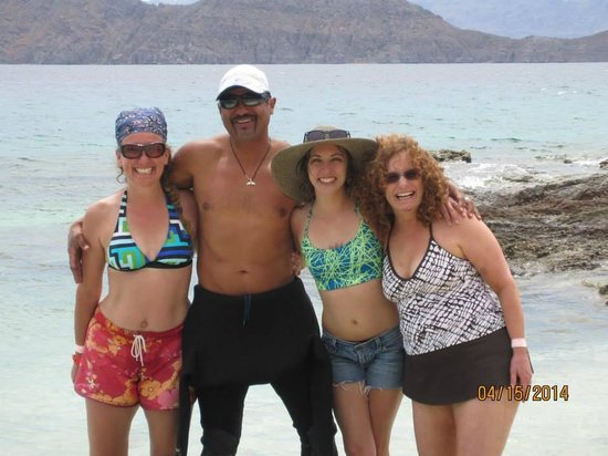 Loreto Bay National Marine Park : Picture with Said