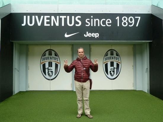 Juventus Stadium : ingresso in campo