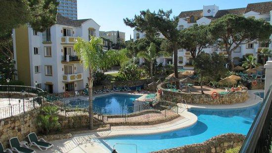 Alanda Club Marbella: vue sur la piscine