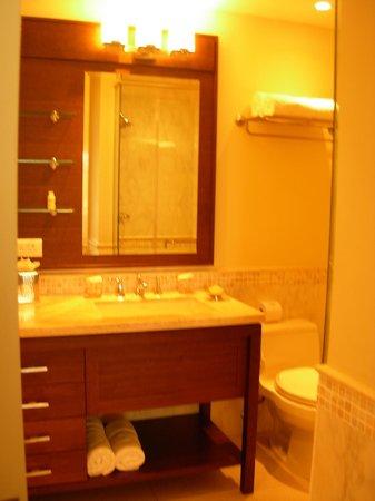 The Landings St. Lucia: Second bedroom's en suite bathroom.