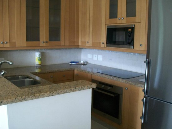 The Landings St. Lucia: Kitchen area in our 2 bdrm. villa.