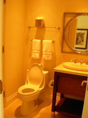 The Landings St. Lucia: Half bathroom off the main hallway of our 2 bdrm. villa.
