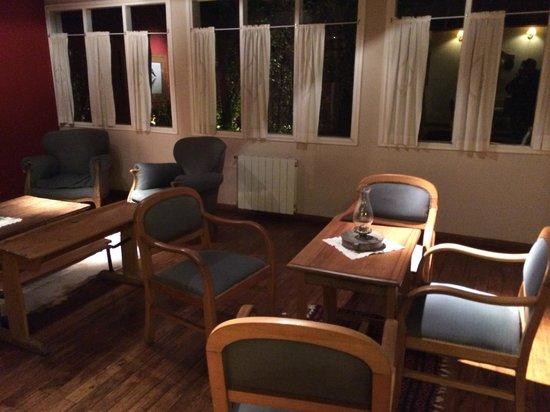 Cauquenes de Nimez : salon à l'accueil