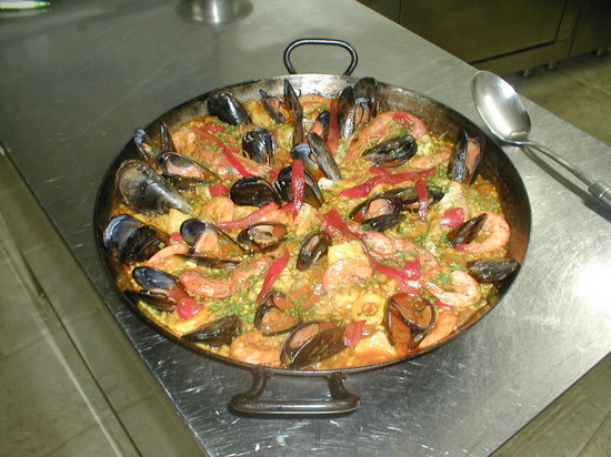 Pieve Santo Stefano, Italy: paella valenziana, venerdi sabato e domenica. solo su prenotazione