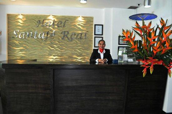 Hotel Santafe Real: Recepción