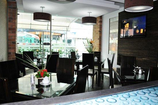 Hotel Santafe Real: restaurante