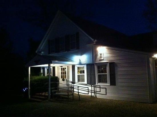 The Whitman House: Entrance