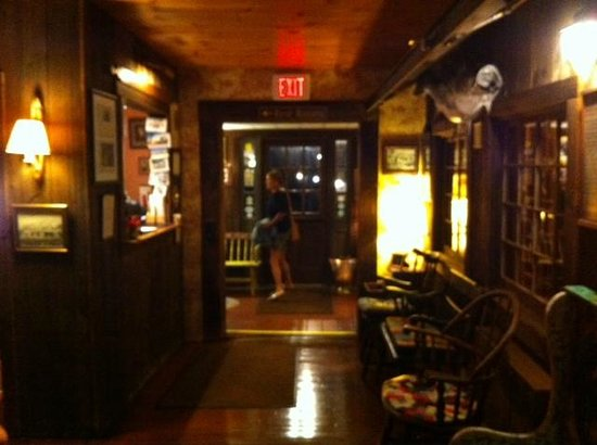 The Whitman House: Foyer