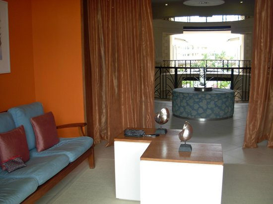 The Landings Resort & Spa St. Lucia : Spa sitting area.
