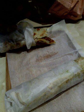The Kati Roll Company: Kati rolls...most have been eaten, lol