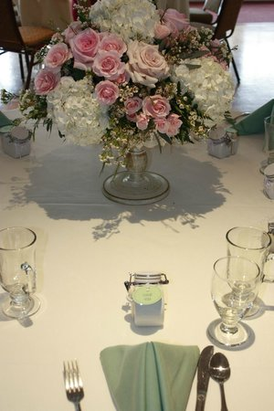 the gloucester house restaurant a bridal shower with floral arrangement by local star celia